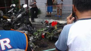 Kronologi Lengkap Ledakan Bom Molotov di Depan Gereja Samarinda - Commando