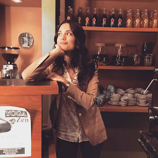 Torrey DeVitto (Melissa Hastings) PLL BTS 6x13