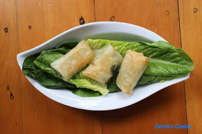 Carole's Chatter: Spring Roll Odyssey