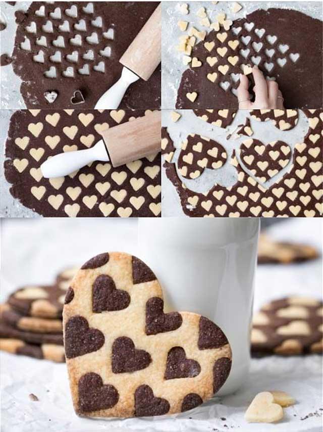 тесто, рулет, печенье, выпечка, гриль, слойка, десерт, валентинки, шоколад, варенье,