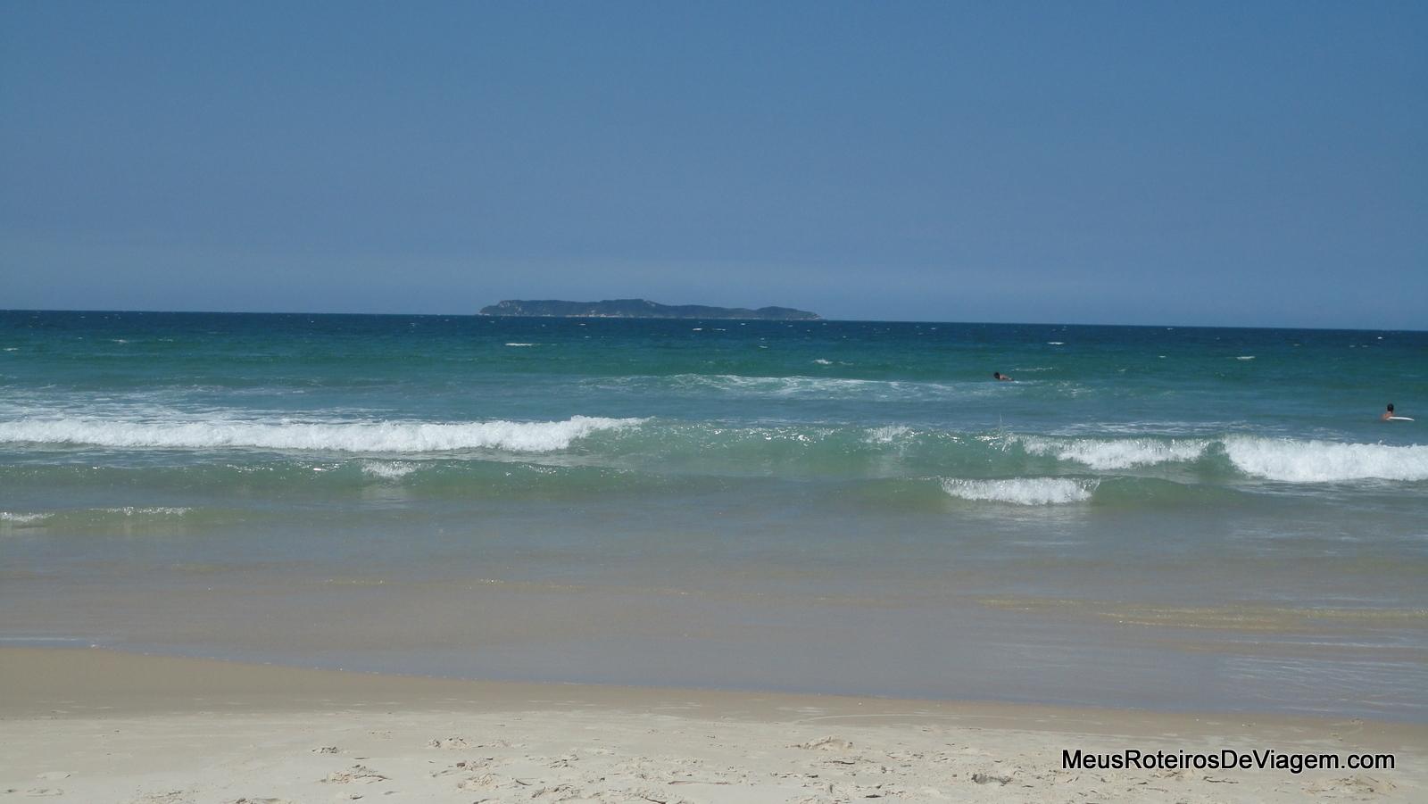 A Praia de Mariscal, em Bombinhas/SC