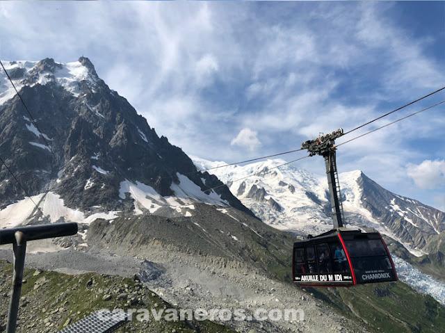 Teleférico Chamonix | caravaneros.com