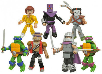 Teenage Mutant Ninja Turtles Classic Cartoon Minimates Series by Diamond Select Toys