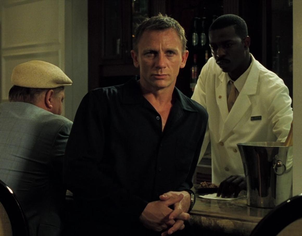 james bond casino royale black shirt