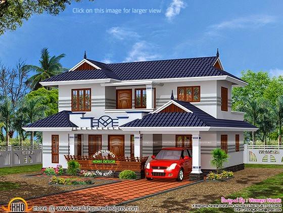 Typical Kerala house plan