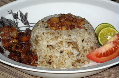 resep membuat nasi tutug oncom