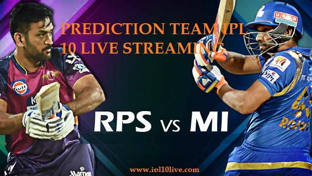 RPS vs MI IPL Match Highlight - 6th April 2017