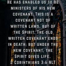 THE REAL LIFE: THE MINISTRATION OF LIFE(CHRIST).