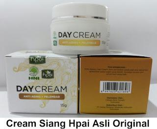 Cream siang alami hpai bagus herbal tradisonal pemutih penghilang jerawat