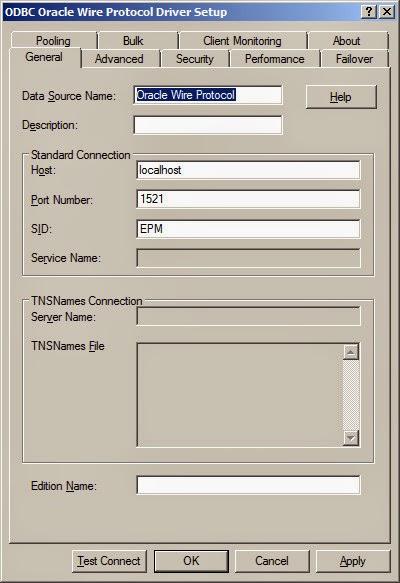 Odbc oracle wire protocol driver setup