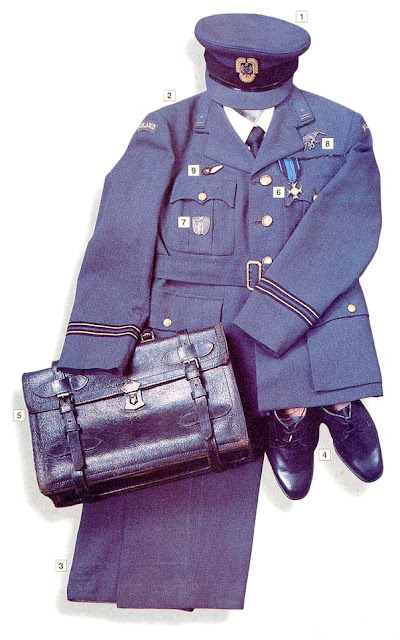 WW2 Military Uniform -Major, Polish Air Force in the UK (1940-45)