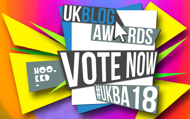 Best Art & Culture Blog? Vote for Hookedblog in the UK Blog Awards