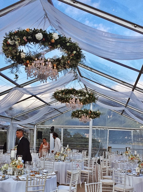 Wedding In Italy 15 Stunning Floral Chandeliers