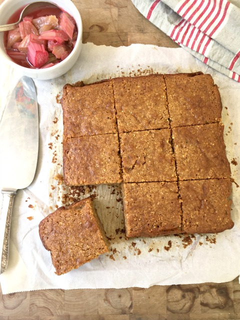 Summer fruit cornbread (Johnny Cake): This is a cake that can travel from breakfast to dessert. It's moist, flavourful and not too sweet.