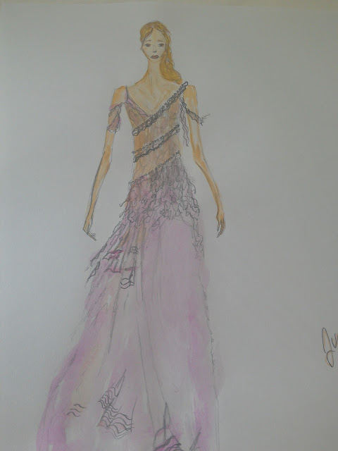 #fashionillustration #modnailustracija #akvarel #watercolour