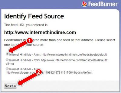 Bloogger Feedburner Google Feed Add