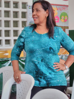 Pionera de la sede primaria Isabel la católica INEM cartagena