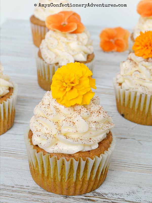 Pumpkin Cupcakes Yellow Cake Mix Vanilla Pudding