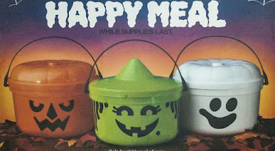 happy meal halloween pail
