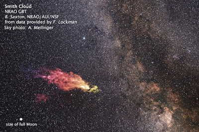 Monstrous cloud boomerangs back to our galaxy