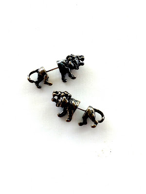Chronicles of Narnia Aslan Earrings