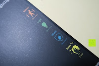Eigenschaften: Bonlux Bewegung aktiviert LED-WC-Nachtlicht 16 Farben ändern Batteriebetriebene automatische Sensor-LED-Nachtlicht für Badezimmer Waschraum -WC-Schüssel Sitz Lampe [Energieklasse A+]