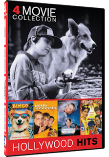DVD Review - 4 Movie Collection: Bingo/ Race the Sun/ My Stepmother is an Alien/ Little Secrets