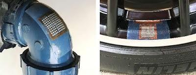 El pegat d'ultrasò flexible pot facilitar la inspecció de danys en estructures en formes irregulars