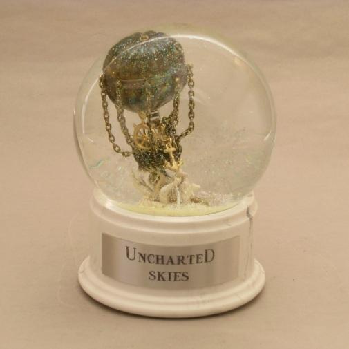 Uncharted Skies Snow Globe