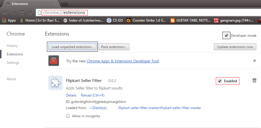 Flipkart Seller Filter Chrome Extension | TheTechPie