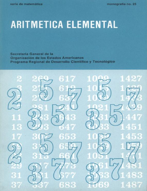 Aritmética elemental – Enzo R. Gentile