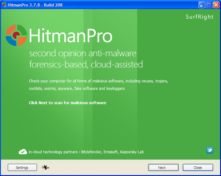 HitmanPro3-to remove pop-ups generating adware