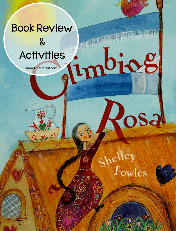 Climbing Rosa. A retelling of a funny Hungarian folktale. Book review with 4 ideas for book extensions. #gradeonederful #kidsbooks #climbingrosa #bookreview