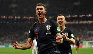 Croácia vira sobre a Inglaterra na prorrogação e vai à final da Copa pela primeira vez