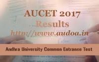 AU PGCET Results 2017 | AU PGCET 2017 Results
