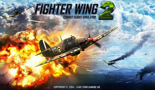 تحميل لعبة الطائرات FighterWing 2 مهكرة للاندرويد