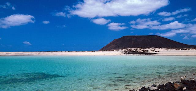 Isla de Lobos nas Ilhas Canárias