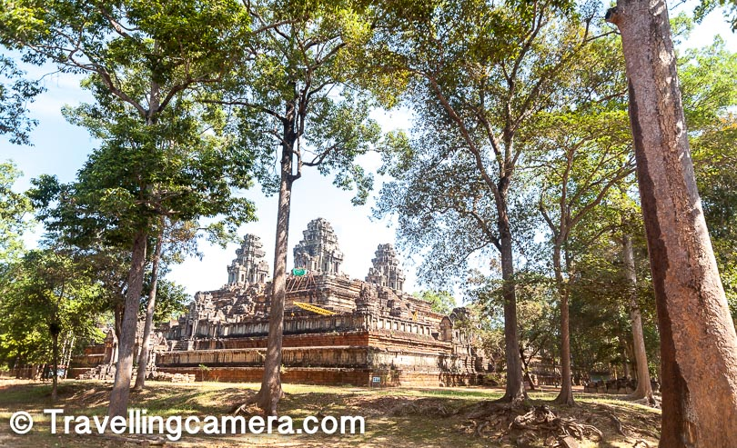 In one day tour, you can easily explore the main temple of Angkor Wat, the beautiful Bayon temple with plenty of faces of Budha, Ta Prohm which is another beautiful temple in this heritage site and India is helping in restoring this one and some of the other architectural sites which come on the way. With all this you get a good sense about the space where this heritage site is located and most of the other sites would be similar in terms of architecture. During the day you also roam on the roads within heritage sites and that exposes you to some local plantation and water bodies inside the heritage compound.