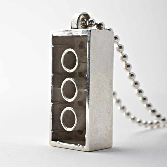 Icon Bricks Are Sterling Silver And Gemstone Lego Like