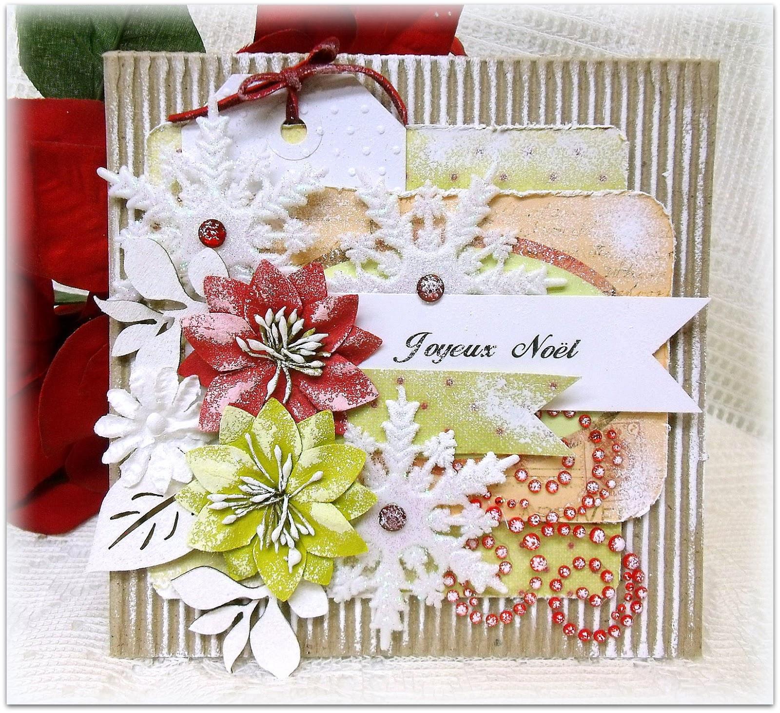 Scrap-Utopia: Christmas Card (Prima 12 Days Of Christmas