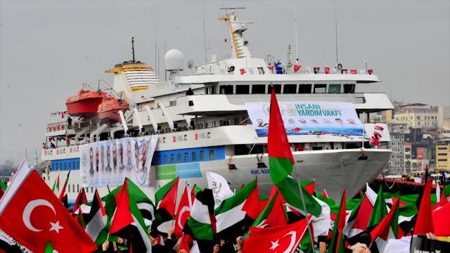 Israel indemniza a Turquía con $20 millones por ataque a flotilla