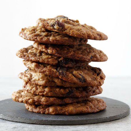One Perfect Bite: Chunky Chocolate-Cherry Oatmeal Cookies