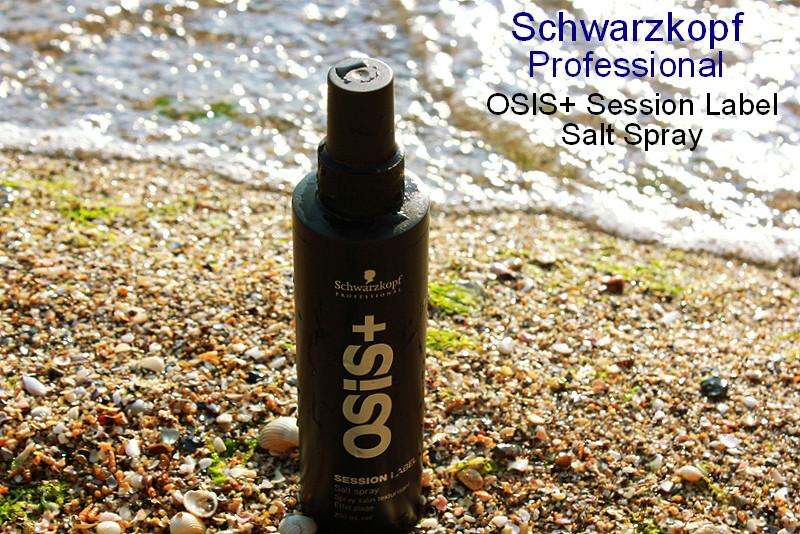 Отзыв: Солевой спрей для текстурирования волос Schwarzkopf Professional, OSIS+ Session Label Salt Spray.