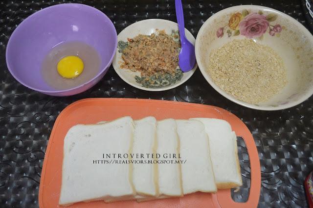 #EATwithRII ; Roti Sardin Gulung ( My Style )