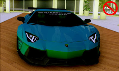 Lamborghini Aventador LP700-4 Liberty Walk LB Performance para GTA San Andreas , GTA SA