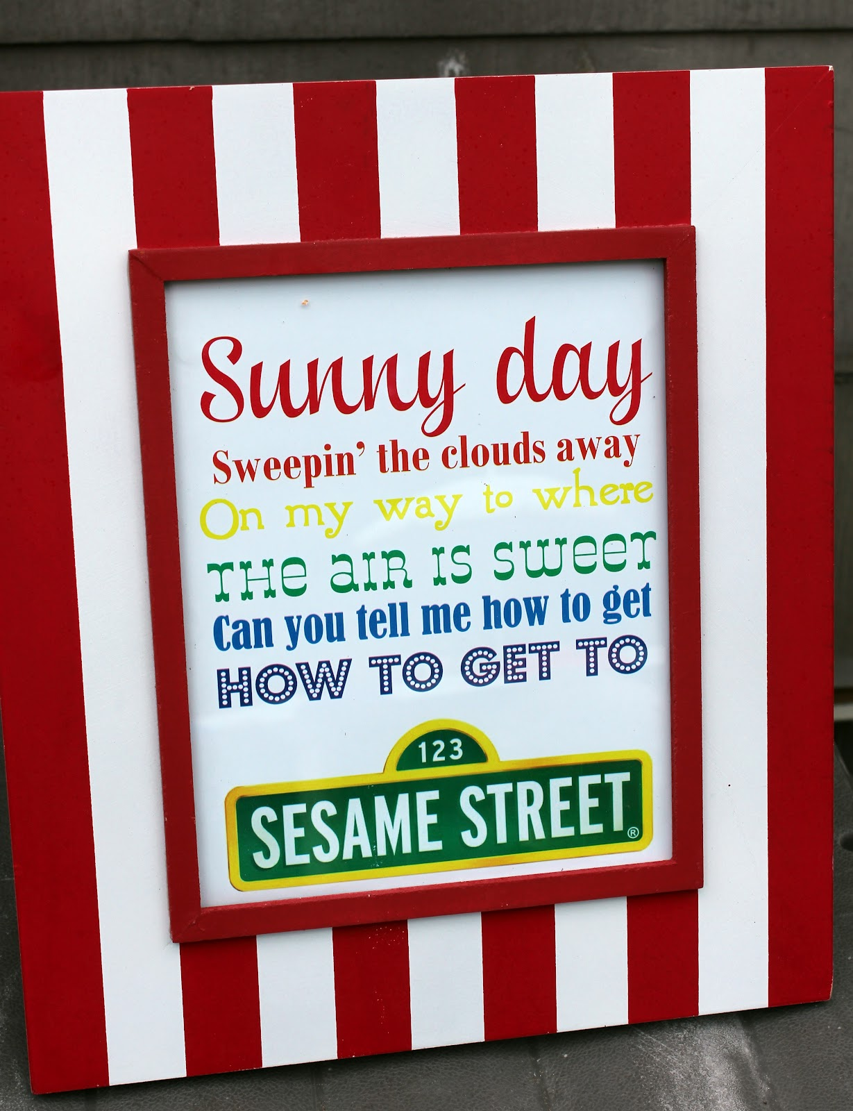 Lanes On Long Island: Sesame Street First Birthday Party