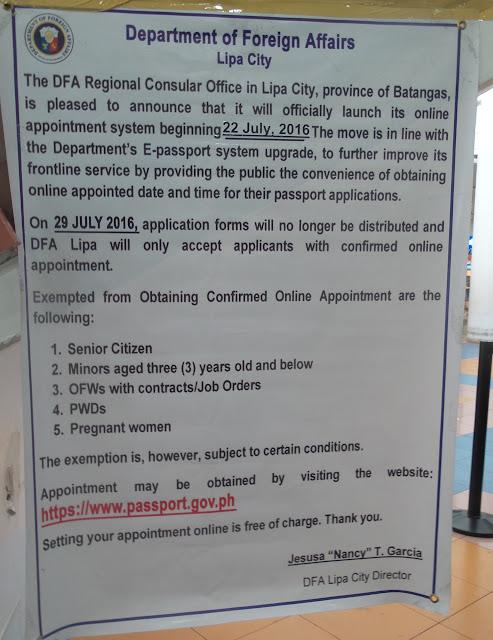 How To Get A Passport At Dfa Lipa Life So Mundane In Batangas