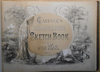 Title page to Gardner's Photographic Sketch Book of hte War