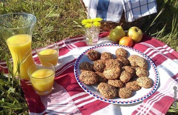 Recette Markal cookies au chocolat noir et flocons d'avoine