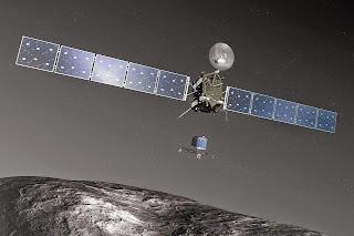 Suelta de Philae desde Rosetta para el acometizaje